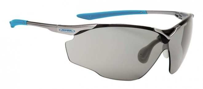 Alpina Splinter Shield VL Sportbrille - titan cyan