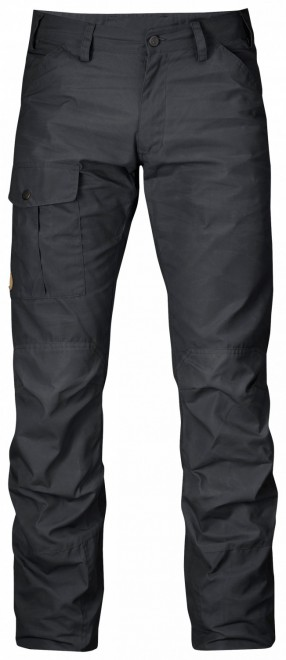 Fjällräven Nils Trousers Herren Outdoor Hose - Dark Grey – Bild 1