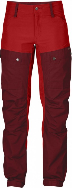 Fjällräven Keb Trousers W. - ox red