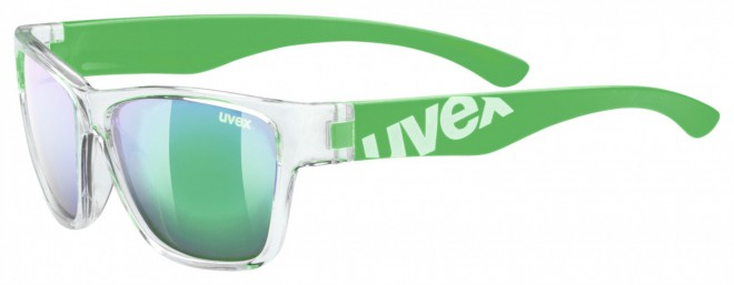 Uvex Sportstyle 508 Kinder-Sonnenbrille - clear green