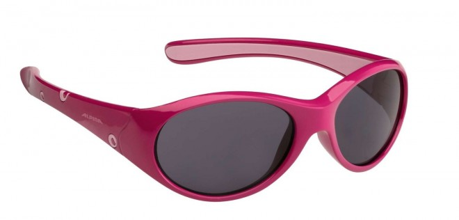 Alpina Flexxy Girl Kinder Sonnenbrille - pink rose