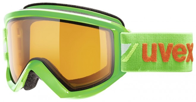 Uvex Fire race Skibrille - green