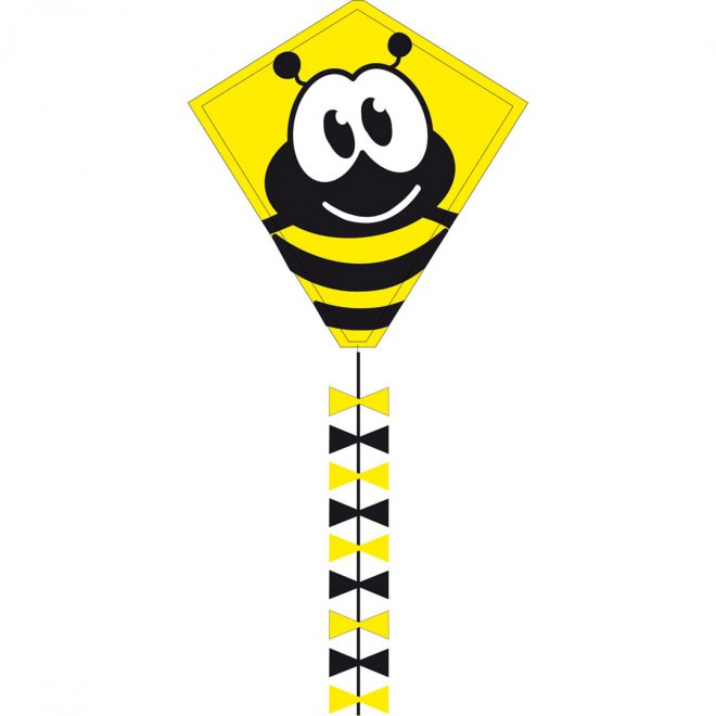 Kinderdrachen Eddy Bumble Bee 50cm